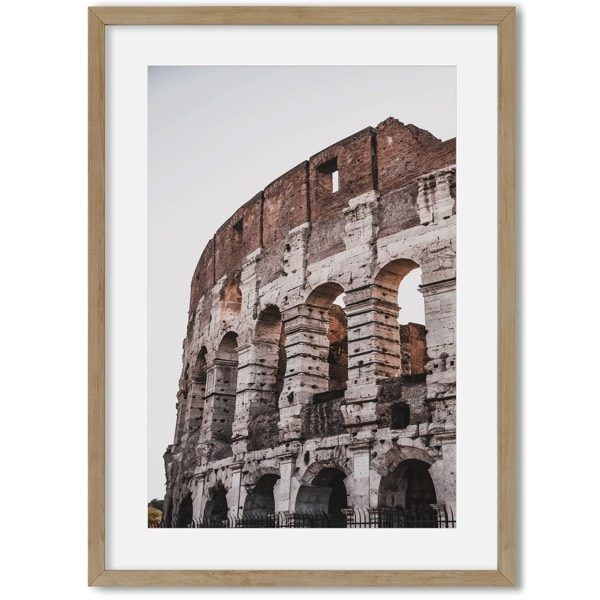 Rome poster aan de muur