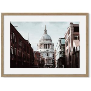 St Paul's Kathedraal poster
