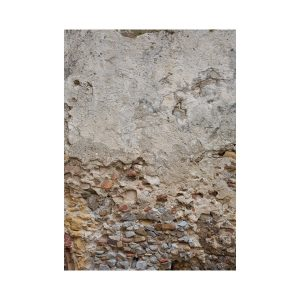 Afgebrokkeld steen behang