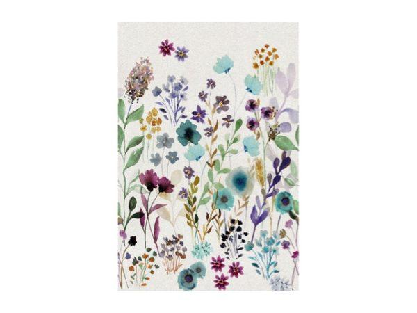 Behang bloemenprint