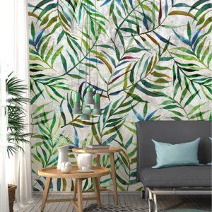 Behang jungle print