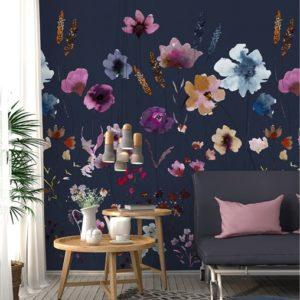 Bloemen fotobehang