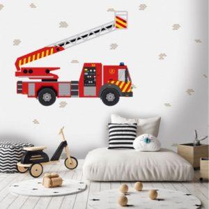Brandweer behang