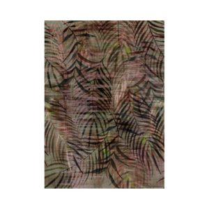 Jungle bladeren behang