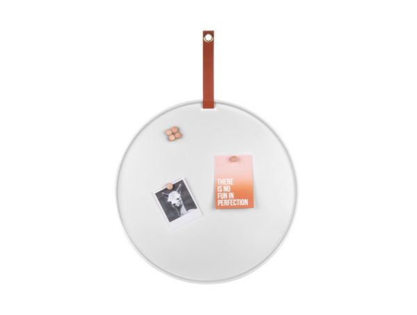 Memobord rond wit
