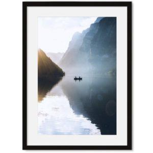 Poster van meer