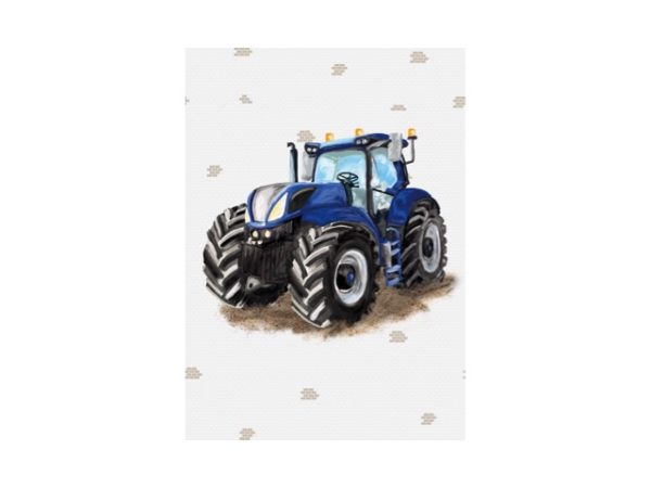 Tractor behang