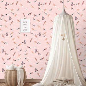 Vogeltjes behang behangexpresse 7426