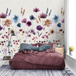 behang bloemen 7286