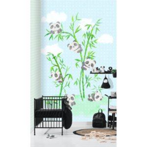 Behang met panda's