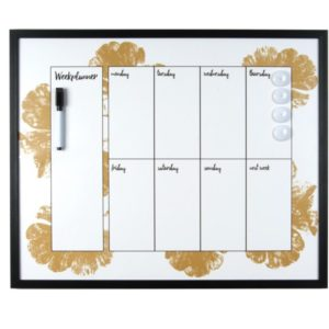 Weekplanner whitebord