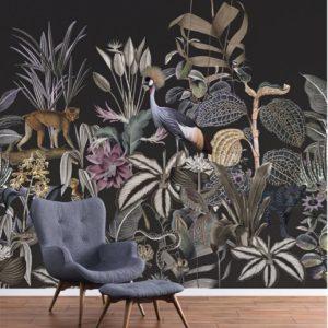 Jungle behang dieren