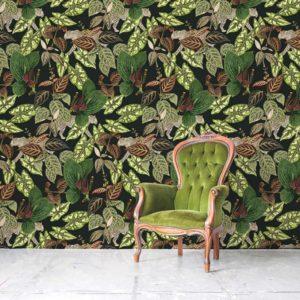 Luipaard behang, jungle behang