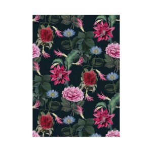 Klassiek bloemen behang