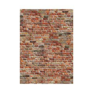 Bakstenen muur behang