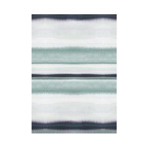 Scandinavisch behang blauwe tinten