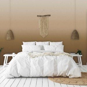 Scandinavisch behang bruin