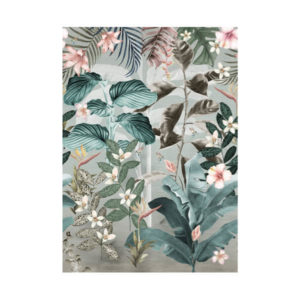 Behang Jungle bladeren