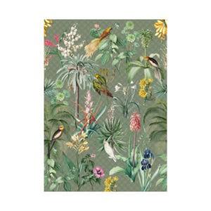 Tropisch behang groen-2