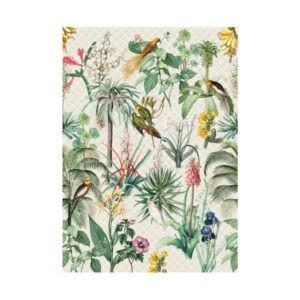 Tropisch behang licht